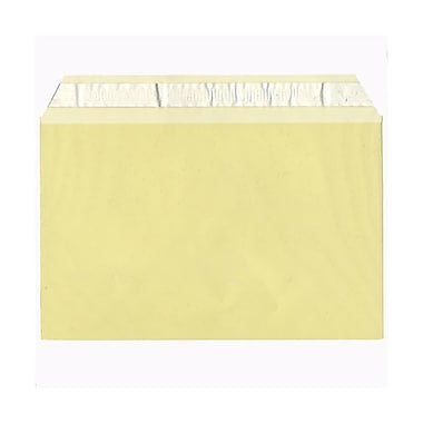 JAM Paper® Cello Sleeves, A9, 5 7/16 x 8 5/8, Yellow, 100/pack (2783145)