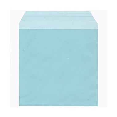 JAM Paper® Cello Sleeves, 6 1/16 x 6 3/16, Aqua Blue, 100/pack (66PB1)