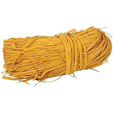 JAM Paper® Wraffia Ribbon Bundle, 1.7 oz, Yellow, Sold Individually (190225362)