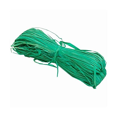 JAM Paper® Wraffia Ribbon Bundle, 1.7 oz, Green, Sold Individually (2190215232)