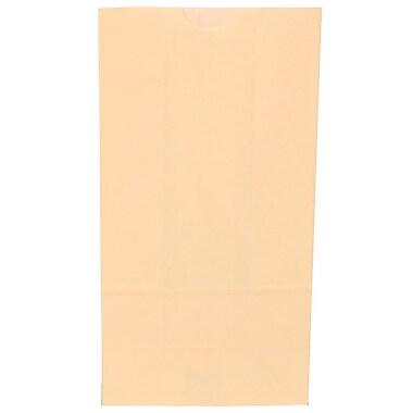 JAM Paper® Kraft Lunch Bags, Small, 4.125 x 8 x 2.25, Ivory, 500/box (690KRIVB)