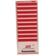 JAM Paper® Christmas Holiday Tissue Paper, Red and White Christmas Stripes, 8/pack (11824290)