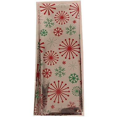 JAM Paper® Christmas Holiday Foil Tissue Paper, Silver Snowflake, 3/pack (11724294)