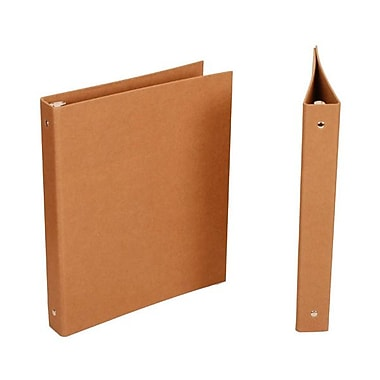 JAM Paper® Kraft Binder, 1 Inch, Brown, Sold Individually (751KBR)