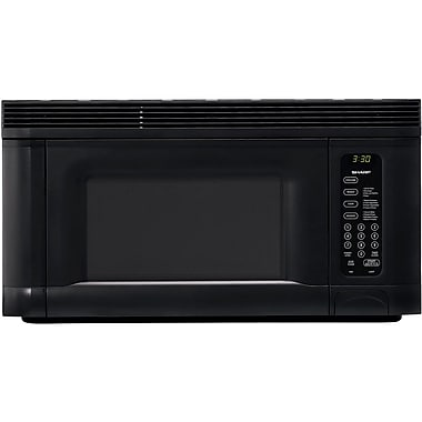 Sharp 1.4 cu. ft. Over The Range Microwave Oven, 950 W, Smooth Black
