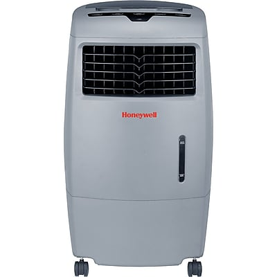 Honeywell Grey CO25AE 52 Pt. Indoor/Outdoor Evaporative Air Cooler with Remote Control 17747680