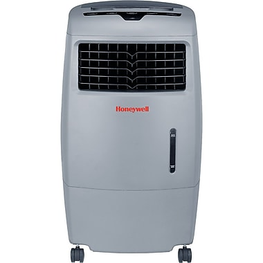 Honeywell® CO25AE 52-Pint Evaporative Air Cooler, Dark Grey