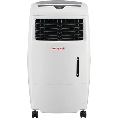 Honeywell White CL25AE 52 Pt. Indoor Evaporative Air Cooler with Remote Control 17748040
