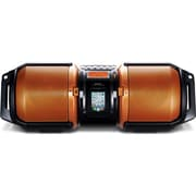 Sharp® GX-M10 High Power Portable Audio System With Dual Subwoofers For iPod/iPhone