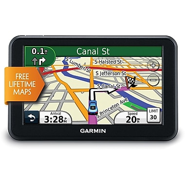 Garmin® nuvi® 50LMC Refurbished 5in. Portable GPS Navigator With Lifetime Maps