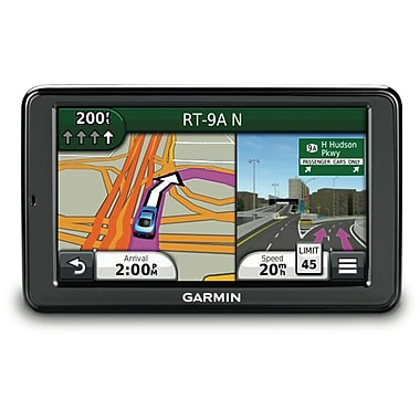 Garmin nuvi 5 Portable Bluetooth GPS Navigator With Lifetime Maps and Traffic