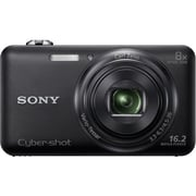 Sony® WX80/B 16.2 MP 8x Optical Zoom Cyber-Shot Digital Camera, Black