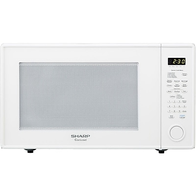 Sharp Countertop Microwave Dimensions : Sharp 2.2 cu. ft. Mid Size Countertop Microwave Oven With 16