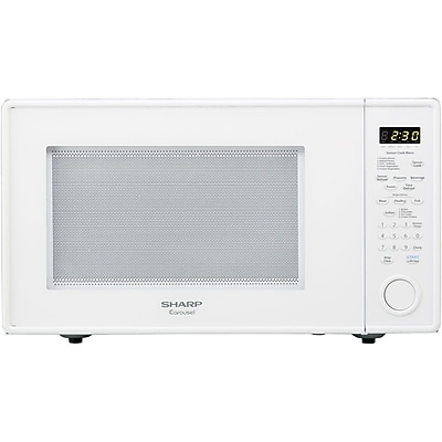 Sharp? 1.8 cu. ft. Full Size Countertop Microwave Oven With 15 ...