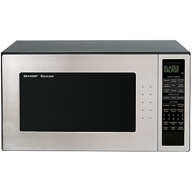 Sharp 2 cu. ft. Full Size Countertop Microwave Oven With 16 Turntable, 1200 W, Stainless SteelSorry, this item is currently out of stock.