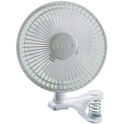 "Lasko® 2 Speed 6"" Clip Fan, White"