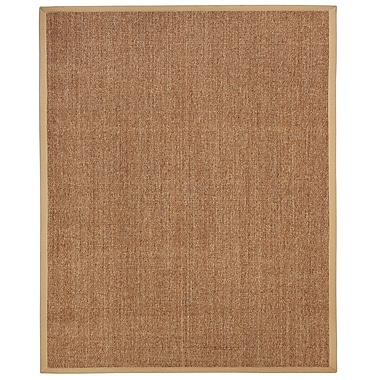 Anji Mountain Kingfisher Sisal Rug Natural Fiber 8' x 10' Brown