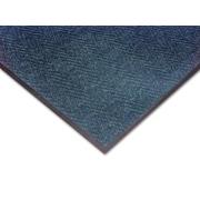 NoTrax Akro Chevron Fiber Entrance Mat 72 x 48, Slate Blue
