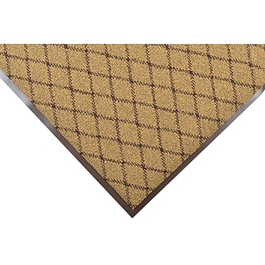 NoTrax® Evergreen Diamond™ Nylon Fiber Superior Entrance Floor Mat, 3' x 5', Gold