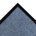 NoTrax® Akro® Sabre™ Decalon® Fiber Better Entrance Floor Mat, 3' x 4', Slate Blue