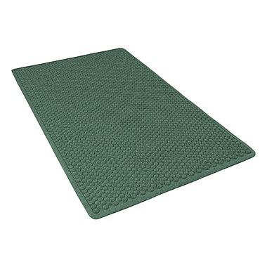 NoTrax® Aqua Trap® Tufted Polypropylene Yarn Superior Entrance Floor Mat, 3' x 4', Hunter Green