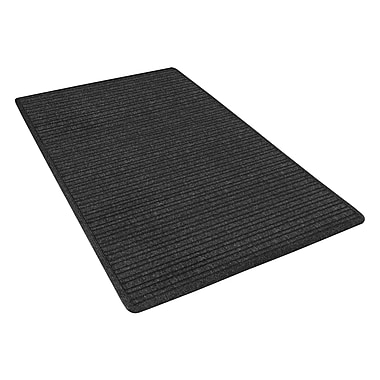 NoTrax® Barrier Rib™ Tufted Polypropylene Yarn Superior Entrance Floor Mat, 4' x 6', Charcoal