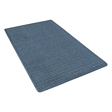 NoTrax® Barrier Rib™ Tufted Polypropylene Yarn Superior Entrance Floor Mat, 4' x 6', Slate Blue