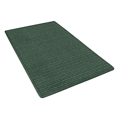 NoTrax® Barrier Rib™ Tufted Polypropylene Yarn Superior Entrance Floor Mat, 3' x 5', Hunter Green