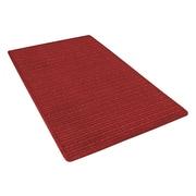 NoTrax® Barrier Rib™ Tufted Polypropylene Yarn Superior Entrance Floor Mat, 3' x 4', Red/Black