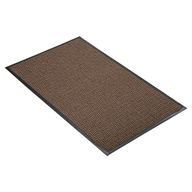 NoTrax® Portrait™ Tufted Polypropylene Yarn Best Entrance Floor Mat, 3' x 4', Brown