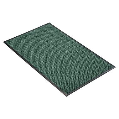 NoTrax® Portrait™ Tufted Polypropylene Yarn Best Entrance Floor Mat, 4' x 6', Hunter Green