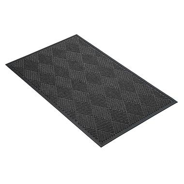 NoTrax® Opus™ Tufted Polypropylene Yarn Best Entrance Floor Mat, 3' x 10', Charcoal