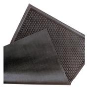 "NoTrax Soil Guard Rubber Entrance Mat 60"" x 36"", Black"