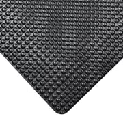 NoTrax® Bubble Trax™ Vinyl Dry Safety/Anti Fatigue Floor Mat, 2' x 3', Black