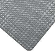 "NoTrax Bubble Trax Grande Vinyl Anti-Fatigue Mat, 36"" x 24"", Gray"