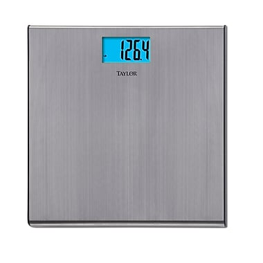 Taylor 7403 Electronic Scale, Brushed Stainless Steel
