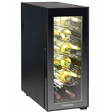 W Appliance WWT120MB 12 Bottle Thermal Electric Wine Cellar, Black