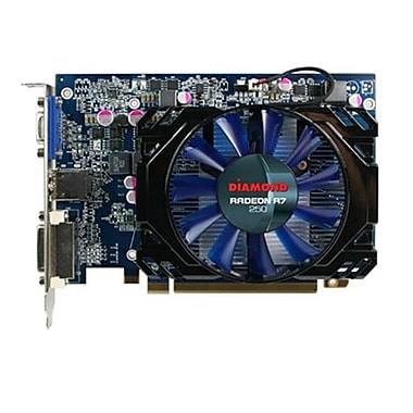 Diamond Multimedia Radeon R7250 1GB Plug-in Card 4600 MHz Graphic Card