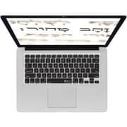 KB Covers Hebrew Keyboard Cover For Apple 11 Macbook Air, Black
