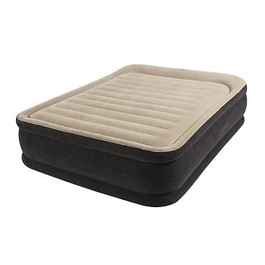 Intex® Premium Comfort Raised Airbed Kit With Dura-Beam Technology, Queen