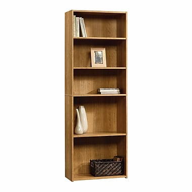 Sauder 5-Shelf Bookcase, Highland Oak