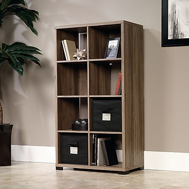 Sauder Transit Bookcase with 2 Storage Bins