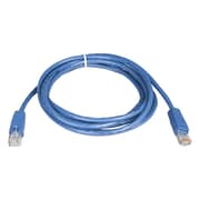 Tripp Lite® 7' Cat5e RJ45 Male/Male 350MHz Molded Patch Cable, Blue