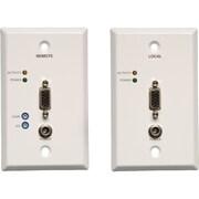Tripp Lite® TAA/GSA Compliant Wallplate Video Console/Extender