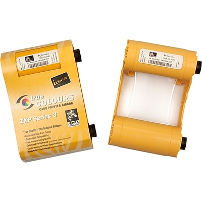 Zebra True Colours ix Load N Go Monochrome Ribbon For ZXP Series 1 Printer