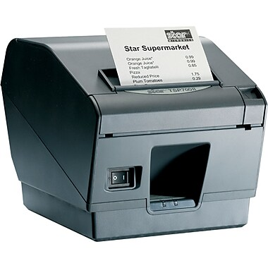 Star Micronics TSP743IIU-24GRY 203 dpi 9.84 in/sec Direct Thermal Receipt Printer