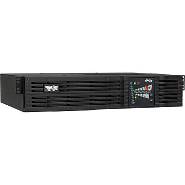 Tripp Lite® SmartOnline SU1500RTXL2UN Tower/Rack-Mountable UPS W/Pre-Installed SNMPWEBCARD, 1200 W