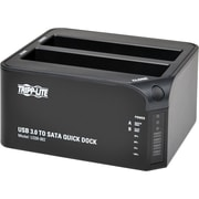 Tripp Lite® SmartRack USB 3.0/Dual SATA Hard Drive Docking Station