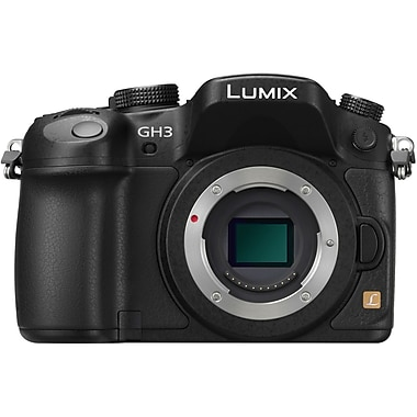 Panasonic LUMIX® G Series DMC-GH3 Mirrorless Camera, Black