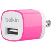 Belkin Home and Travel Wall Charger with USB Port, Pink